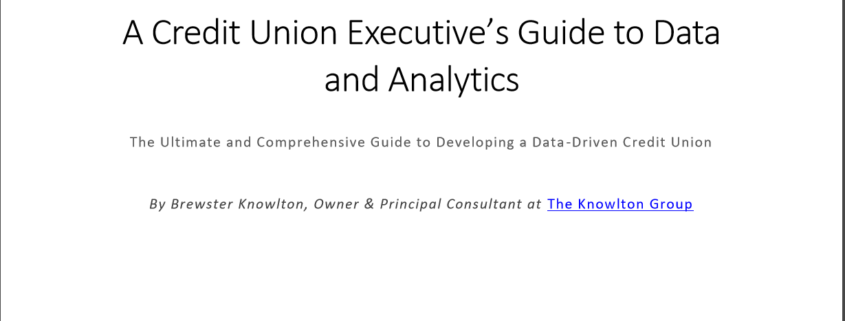 Guide to Data and Analytics