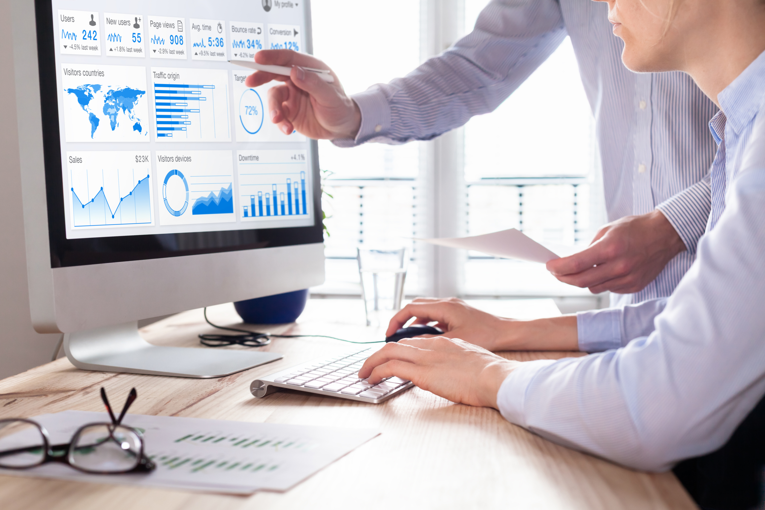Convert Data Into Business Value, Insights & Effective Decisions