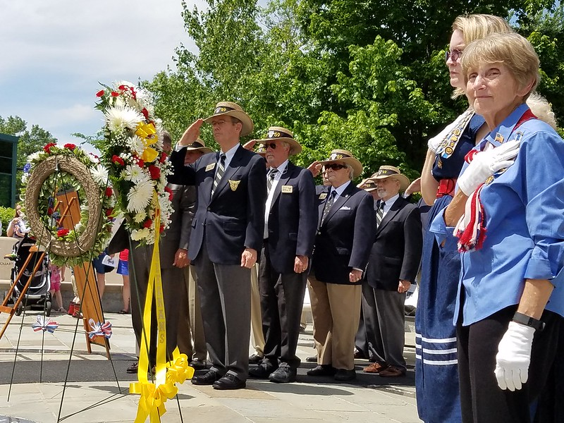 Families and friends honored fallen heroes from Alexandria, Virginia on Monday, May 30that the 14th Annual Memorial Day Ceremony at the Captain Rocky Versace Plaza and Vietnam Veterans.