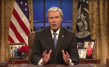 For this week's Sunday Smile, ICYMI last night, President George W. Bush (Will Ferrell) addresses the nation on SNL's Cold Open and compares his presidency to that of President Donald Trump's.