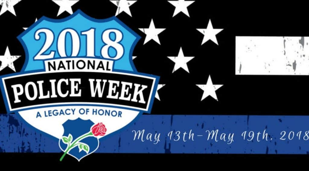 Tens of thousands of law enforcement officers gather in the Washington, DC area during Police Week to participate ina number of planned eventswhich honor those that have paid the ultimate sacrifice.