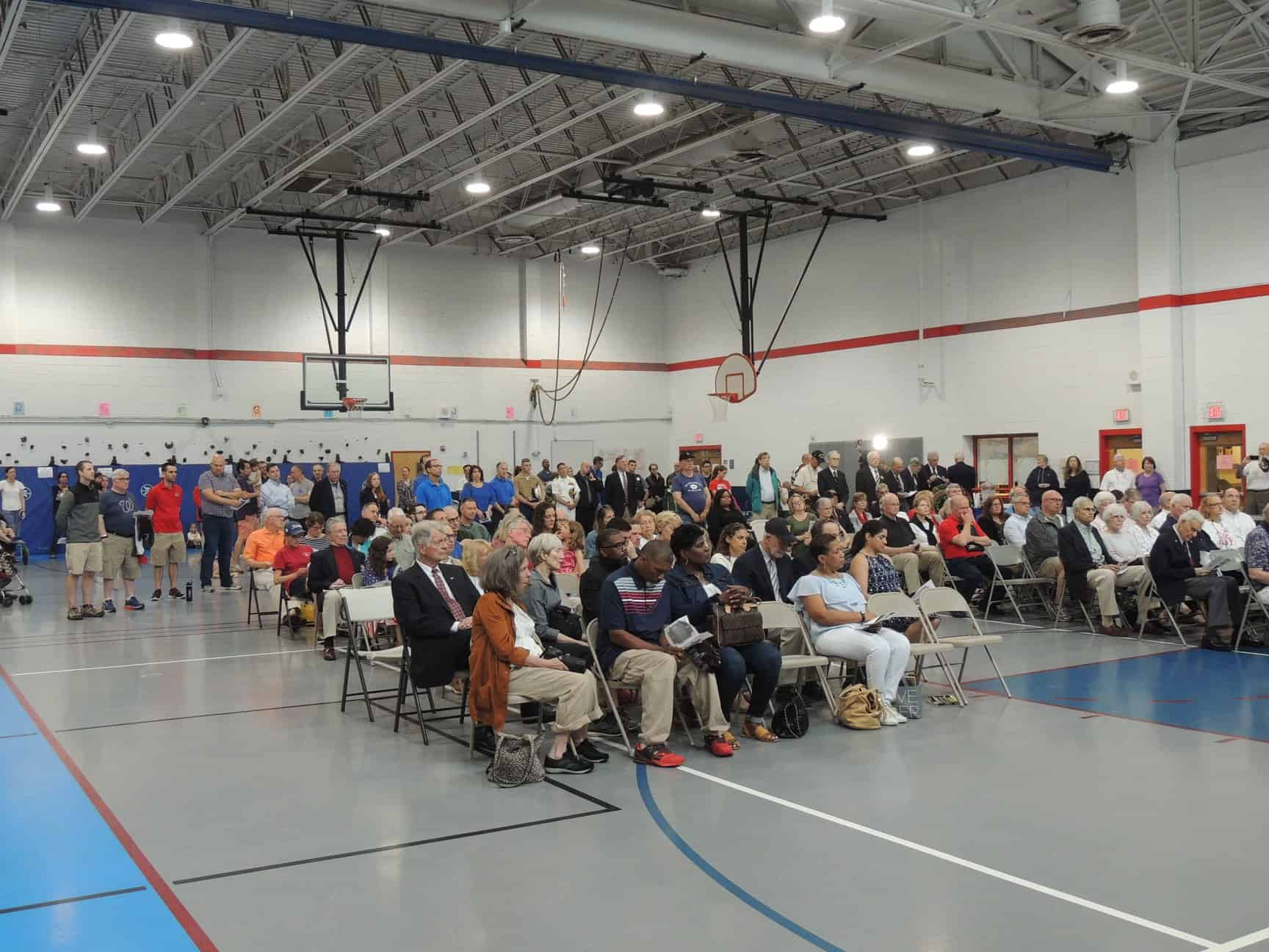 Families and friends honored fallen heroes from Alexandria, Virginia on Monday, May 30thatthe annual Memorial Day Ceremonyat Mount Vernon Recreation Center in honor of Captain Rocky Versace Plaza and other Alexandria veterans of the Vietnam War.