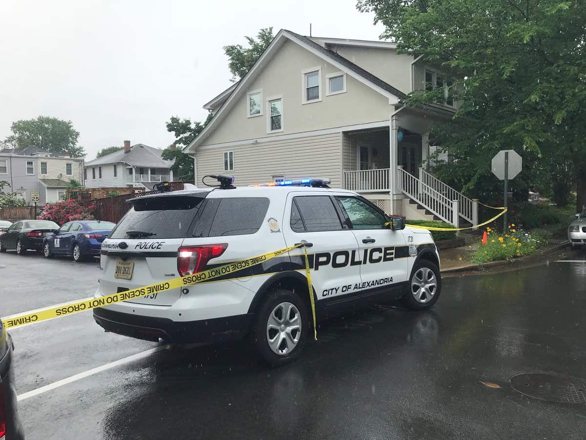 Early this afternoon, Alexandria Police responded to a call for a welfare check on Hume Avenue in the Del Ray neighborhood in Alexandria, Virginia.