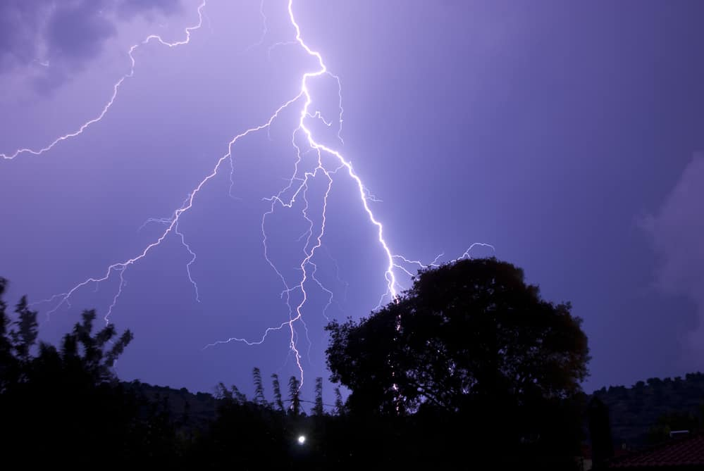 The National Weather Service has issued a Severe Thunderstorm Watch for the City of Alexandria, Virginia and the surrounding area until 9:00 p.m. this evening (Monday, May 14).