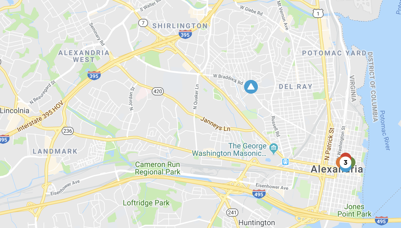 More than two dozen customers currently are without power today (Tuesday, May 15, 2018) in Alexandria, Virginia, according to Dominion Energy.
