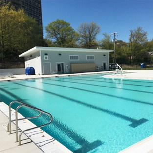 Warwick Pool in Alexandria, Virginia