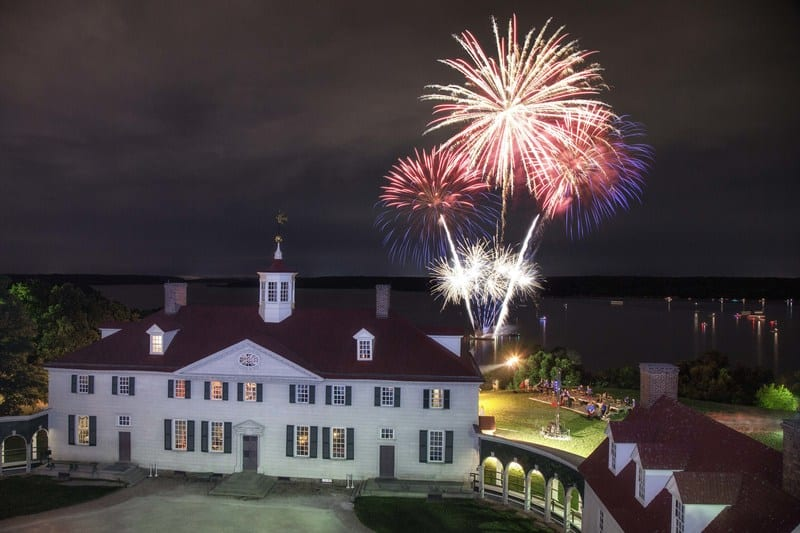 Enjoy an evening of family fun and fireworks at George Washington's Mount Vernon choreographed to patriotic music onJune 29andJune 30.