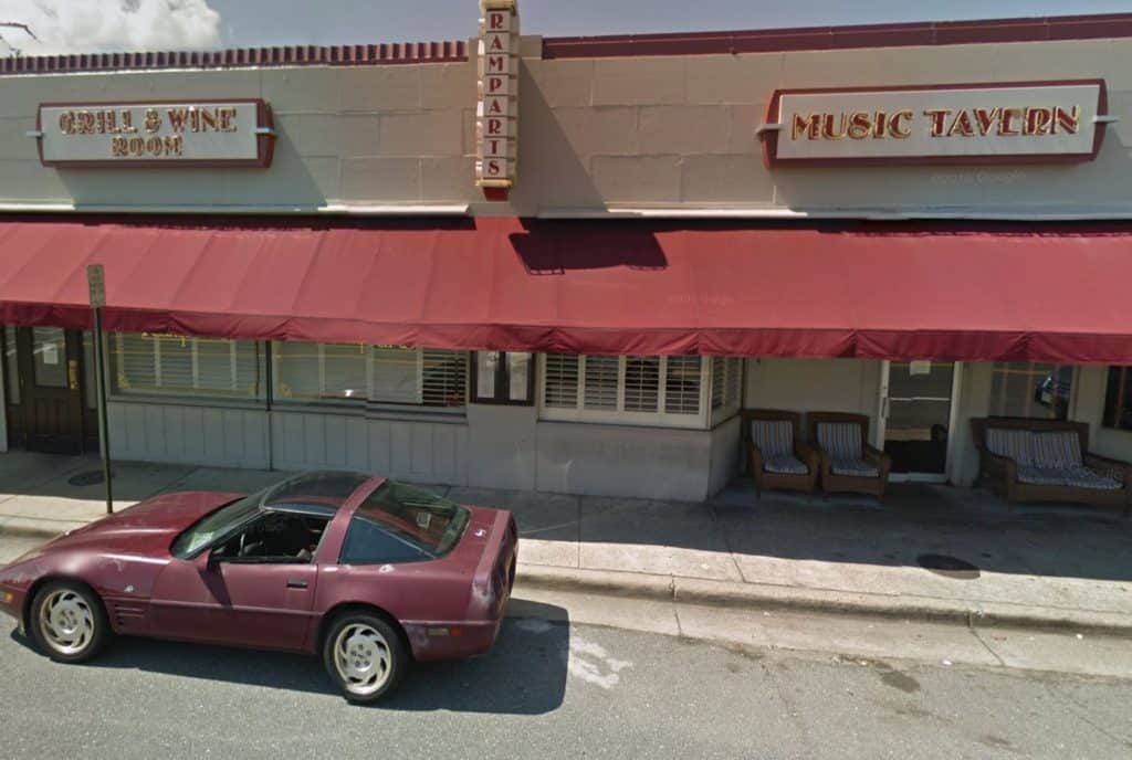 A favorite neighborhood watering hole inthe North Ridge neighborhoodof Alexandria for over 30 years, Rampart's Tavern & Grill is located at1700 Fern Street.
