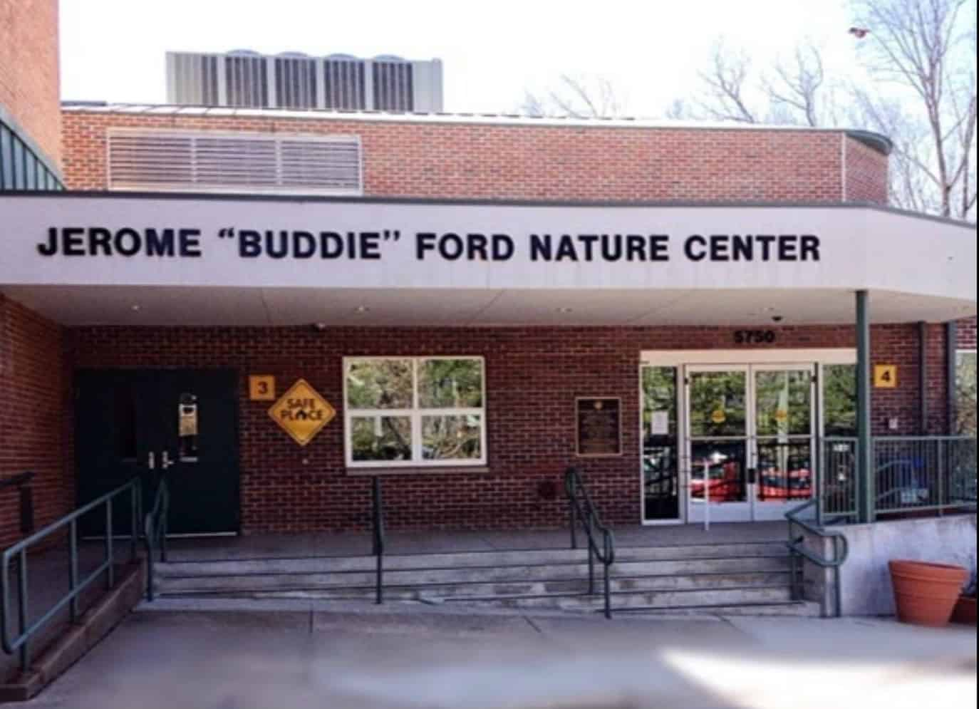 The Jerome 'Buddie' Ford Nature Center, located at 5750 Sanger Avenue in Alexandria, Virginia, is closed this weekend due to an air conditioning system failure. The Nature Center is expected to reopen to the public on Wednesday, June 6, at 10 a.m.