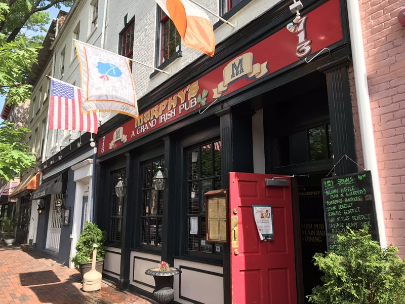 Murphy's, located in the heart of Old Town Alexandria like Mackie's, is another great sports bar in Alexandria. Murphy's is located at 713 King Street in Old Town and is a known New England Patriots bar.