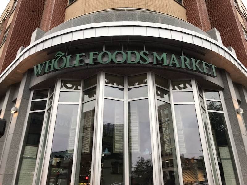 The Whole Foods store at 1700 Duke Street in Alexandria, Virginia was evacuated near 6 p.m. Sunday, June 3, 2018 after a fire scare.
