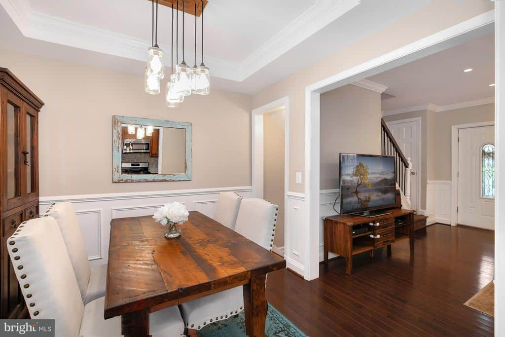 This beautiful 3 bedroom, 2 bath beautiful townhouse is for sale and located at 507 North Payne Street in the Braddock Road Metro neighborhood of Alexandria, Virginia.