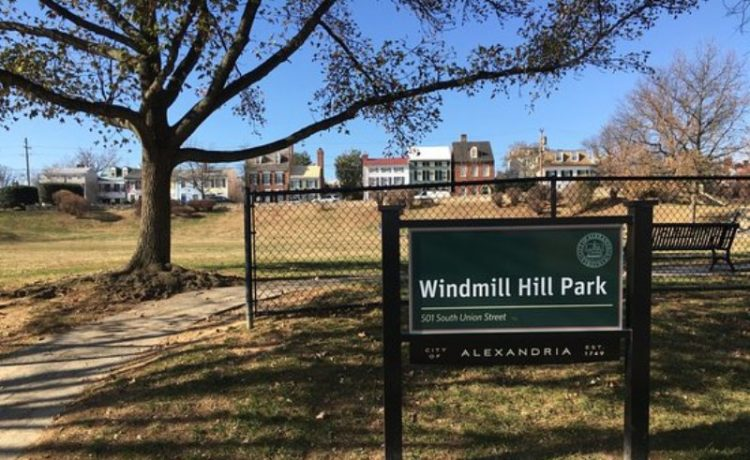 The  newly renovated Windmill Hill Park in Old Town Alexandria, Virginia (501 S. Union St.) has re-opened to the public with a new natural shoreline.