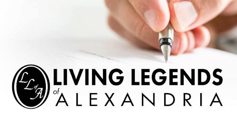 Living Legends of Alexandria, Virginia announced its selections for the newly inducted 2019 Living Legends. The 2019 Living Legends were vetted from an array of nominations that were submitted by the public and received through fall of last year.