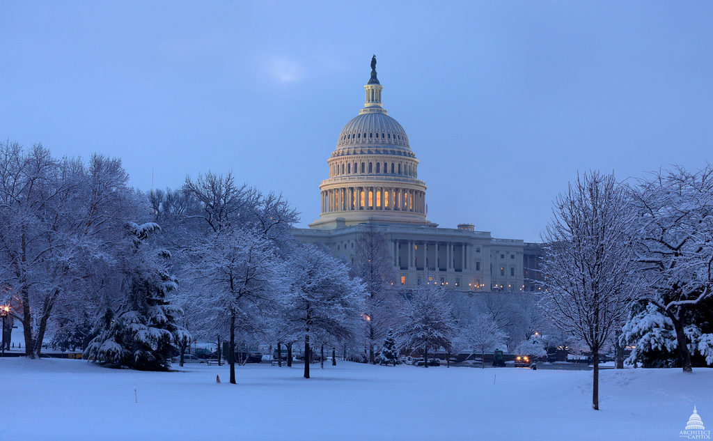 Federal Government offices in the Washington, D.C. area will be closed tomorrow (Monday, January 14, 2019) due to the effects of WInter Storm Gia.