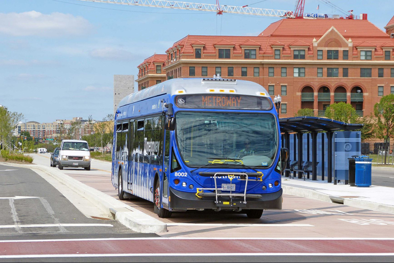 Eight transit projects in Northern Virginia have been recommended for funding under Virginia's Smart Scale program including four in Alexandria, Virginia.