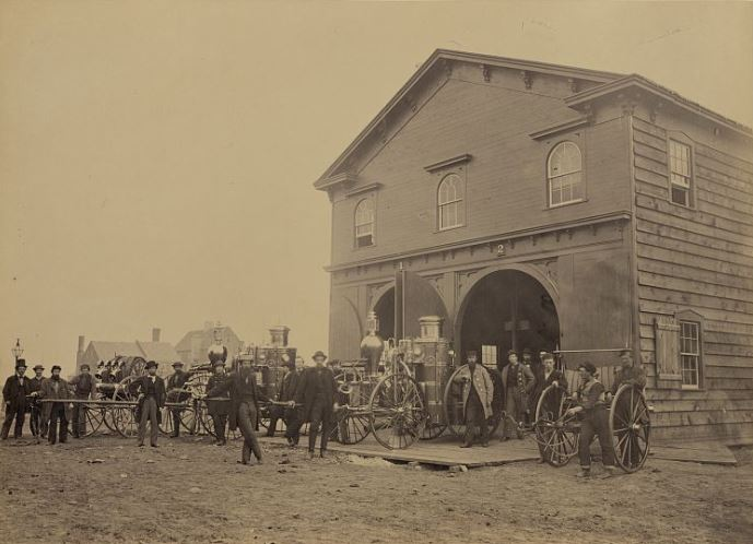 Via Historic Alexandria, City Council passed an act on January 23, 1866 to establish a paid City Fire Department for Alexandria, Virginia.