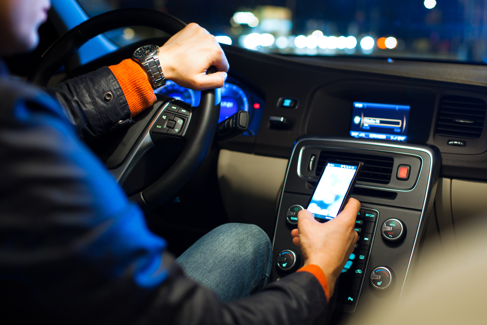 Virginia drivers observed in a 2018 Insurance Institute for Highway Safety (IIHS) survey were 57% more likely to be manipulating a cell phone than drivers in a 2014 survey.