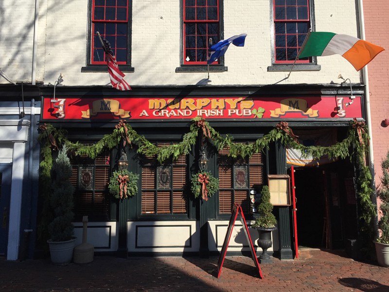 Murphy's Grand Irish Pub in Old Town Alexandria, Virginia is known for its authentic Irish music. Sean Cryunn takes the Murphy's stage January 20-21, 2019 @ 8:30 PM performing Irish acoustic music.