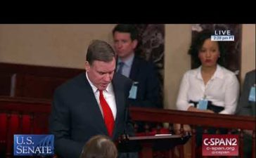 Yesterday, Virginia U.S. Senator Mark R. Warner took to the U.S. Senate floor to urge fellow colleagues to vote on spending bills to re-open the government.