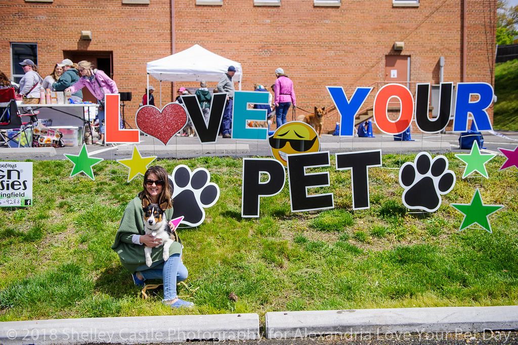 A fun, FREE event for the whole family celebrating the love we have for our pets at the annual Alexandria Love Your Pet Day block party.