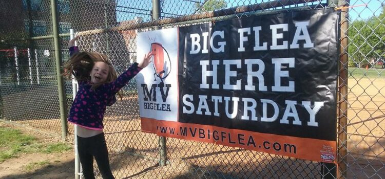 The MV Big Flea market on Saturday is a BIG fundraiser for the Mount Vernon Community School, which is part of Alexandria Public Schools.