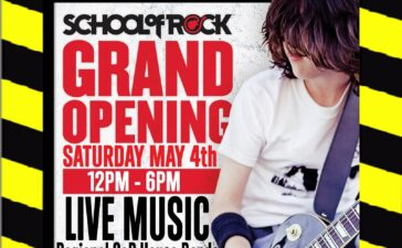 Get ready to throw up the horns and headbang: School of Rock Alexandria, a new music school for aspiring rockers, is celebrating its grand opening.