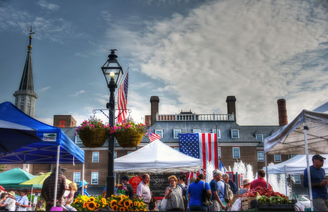 The City of Alexandria's historic Old Town Farmers' Market will host its Spring Kickoff on Saturday, May 4, from 7 a.m. to noon, at Market Square (301 King St.).
