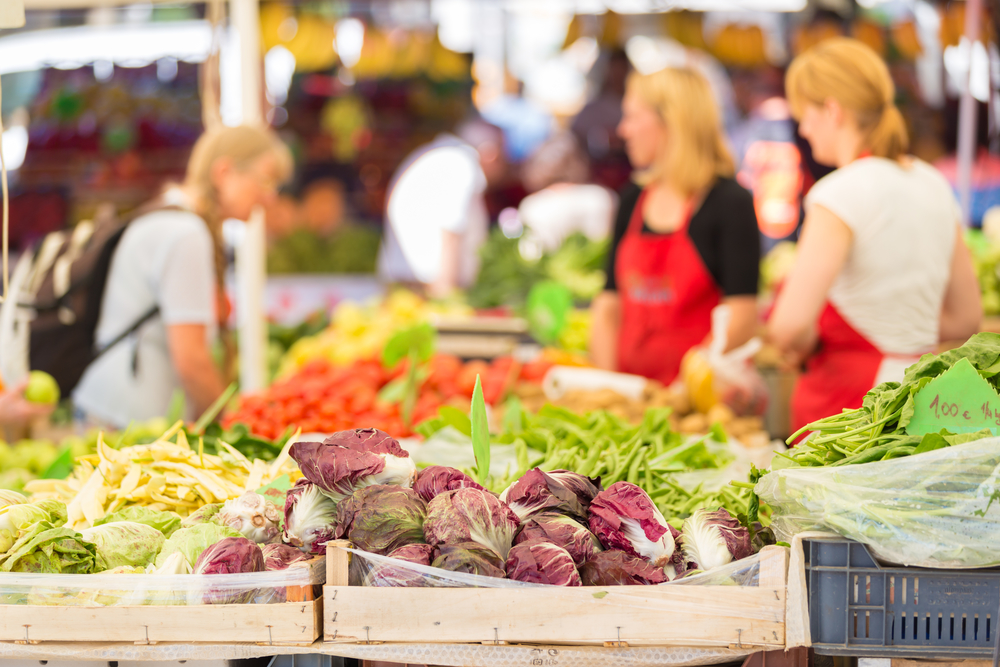 The Old Town North Farmers' and Artisans' Market is open Thursdays from 4:00 PM to 7:00 PM year-round (weather permitting) at Montgomery Park at located at 901 N. Royal Street in Alexandria, Virginia.