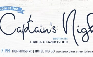 The Fund for Alexandria's Child will host its annual Fostering the Future Gala on Friday, May 3, from 7 to 10 p.m., at Hummingbird Bar and Kitchen (located in Hotel Indigo, 220 S. Union St.)
