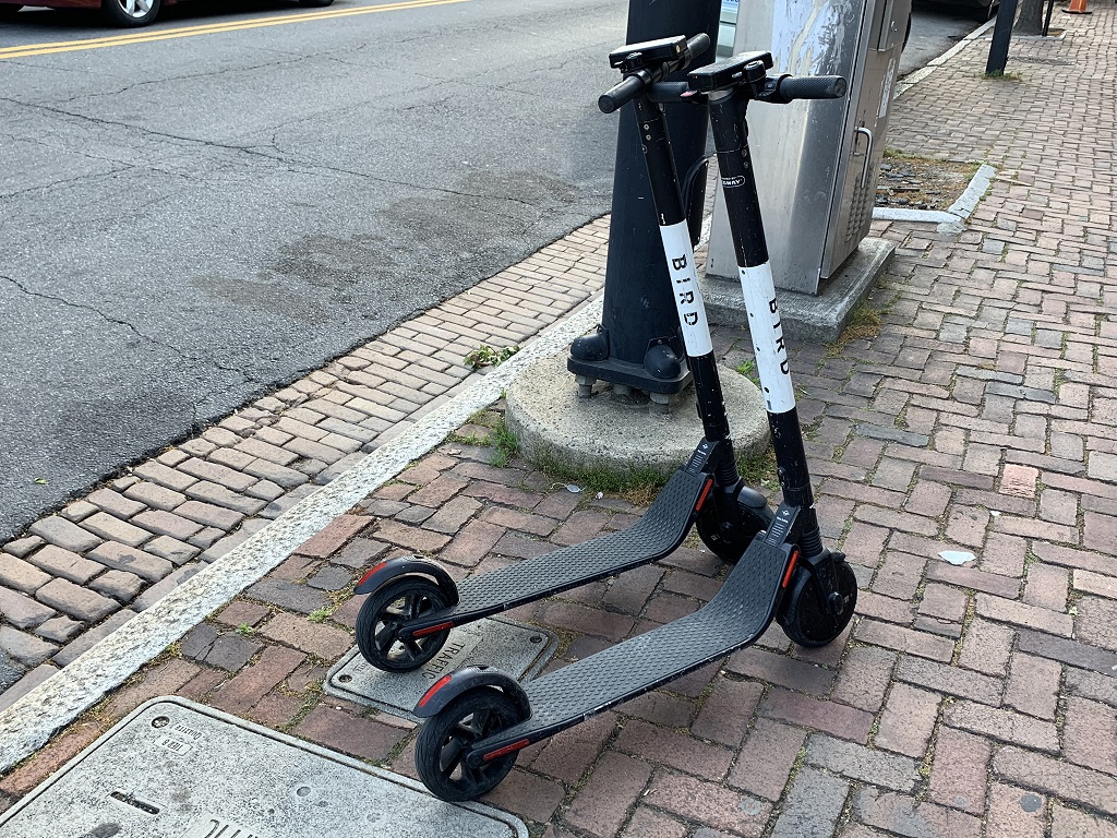 A reader writes in and says the electric scooters, part of the City of Alexandria, Virginia's Dockless Mobility Program, are a nuisance. What say you?