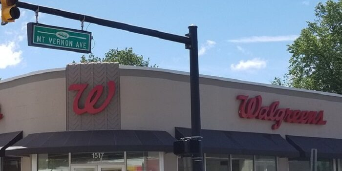 Walgreens in the Del Ray neighborhood of Alexandria, virginia