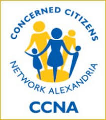Concerned Citizens Network of Alexandria (CCNA) logo