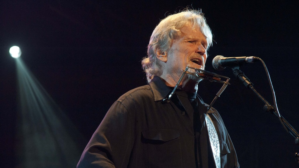 """Kristoffer """"Kris"""" Kristofferson returns with The Strangers to the Birchmere Music Hall in Alexandria, Virginia April 25 & 26 @ 7:30 PM."""