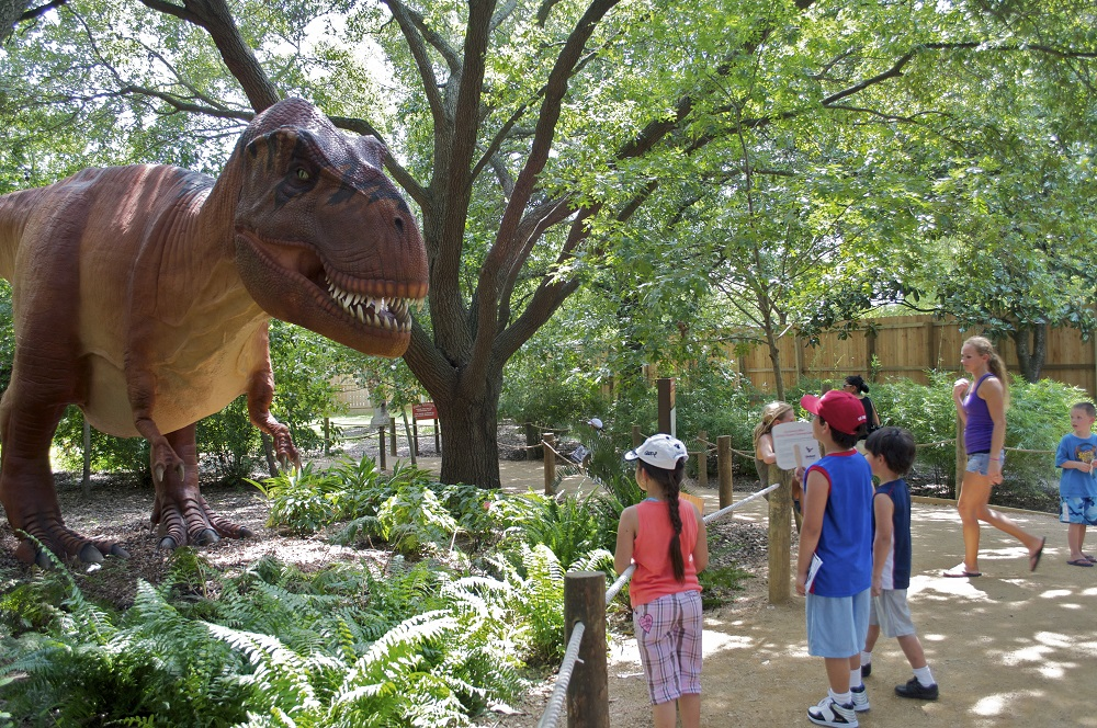 """This summer - travel back millions of years as the Smithsonian's National Zoo presents a """"Dino Summer"""" featuring two prehistoric dinosaur experiences."""