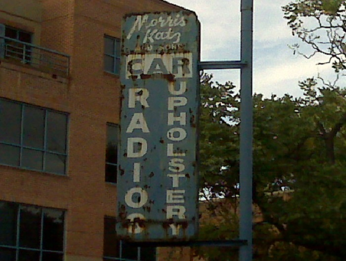 On this Throwback Thursday, who remembers Morris Katz & Sons in Old Town Alexandria, Virginia? The Morris Katz sign on Commerce Street is still standing.