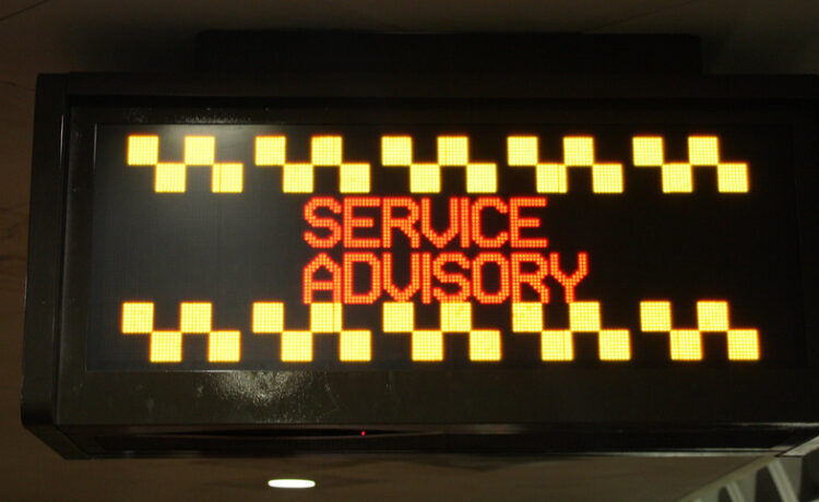 Metrorail weeknight track work continues this week through May 10, 2019 with the following track work and service adjustments to keep trains operating safely and reliably.