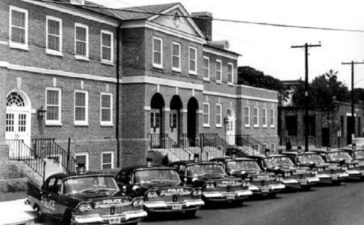 This Flashback Friday, in honor of National Police Week, we thought we'd take a look back at the old Alexandria Police Department Headquarters.