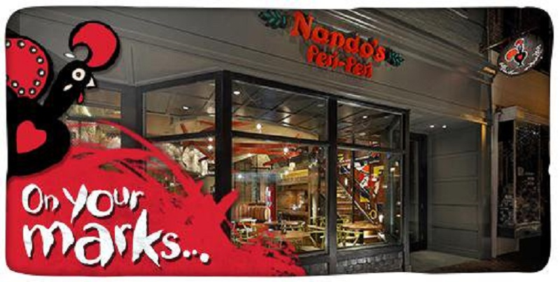 Nando's in Old Town will be offering succulent PERi-PERi FREE chicken and other entrees to their guests from 6:00 pm to 8:00 pm on Thursday, May 16th.
