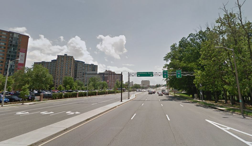 Drivers can expect heavy traffic & police activity near Seminary Rd. and North Beauregard St. in Alexandria, Virginia during Wednesday morning rush hour.
