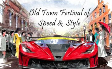 View dozens of rare and exotic cars up close at the inaugural Old Town Festival of Speed & Style on the lower three blocks of King Street in Alexandria, Virginia.