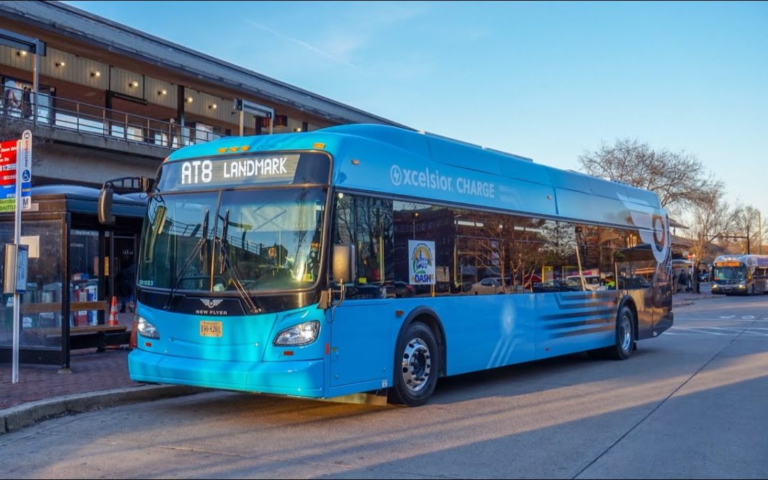 The Center for Transportation and the Environment is to perform a zero-emission bus fleet feasibility and planning study for DASH in Alexandria, Virginia.