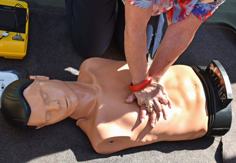 The Alexandria Fire Department will provide CPR training and info on recognizing the symptoms of a stroke in the Carlyle area of Alexandria, VA.