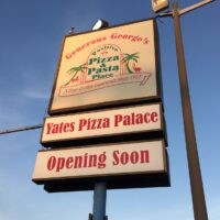 Yates Pizza Palace to Finally Open in Alexandria