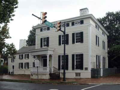 'Pillars to Pavers'-In honor of National Preservation Month, explore spaces not normally open to the public at several Alexandria, Virginia historic sites.