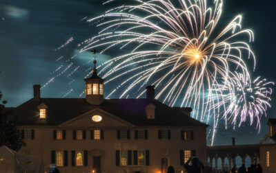 Start your Independence Day celebration with a bang! Enjoy an evening of family fun and fireworks at George Washington's Mount Vernon. Details...