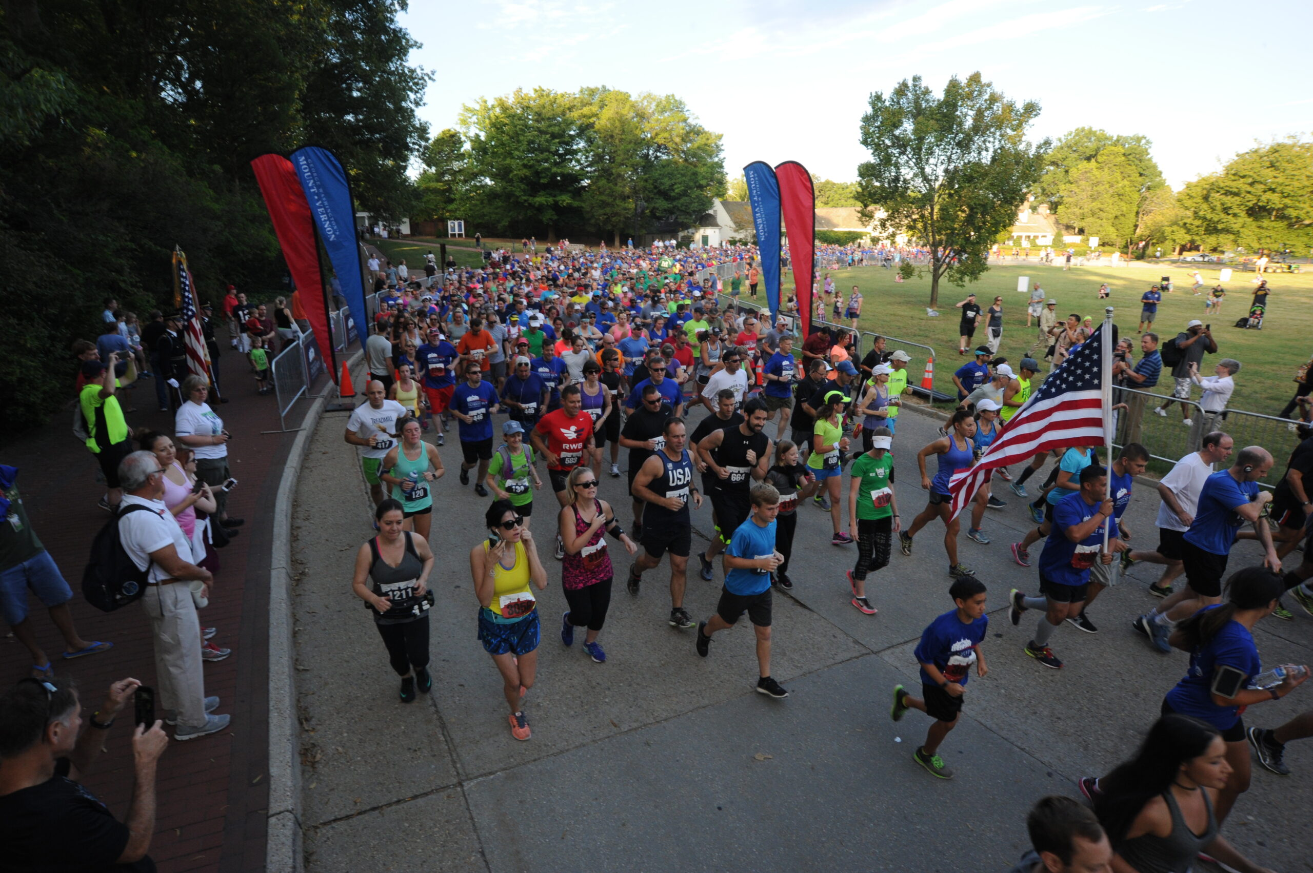 Register now to dash through history during the George Washington Patriot Run, a road race at the historic property of George Washington's Mount Vernon!