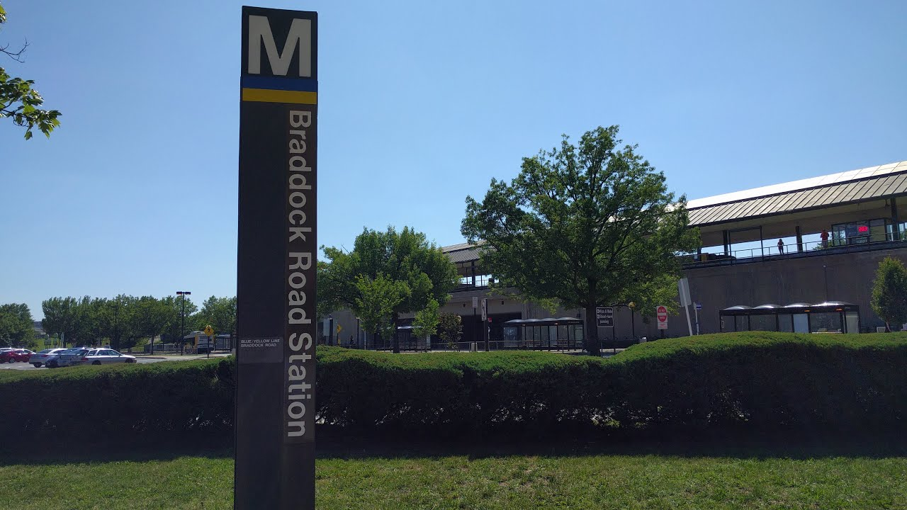 In preparation for this summer's Platform Improvement Project, Metro is relocating the Braddock Road Station bus stops to the kiss & ride lot.