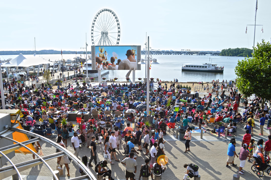 National Harbor has brought back its popular Movies on the Potomac series in 2019 from May 1 through September 30.