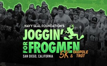 The Joggin' for Frogmen Tadpole Trot and 5k in Alexandria, Virginia is a fundraiser in support of the Naval Special Warfare warriors and families.